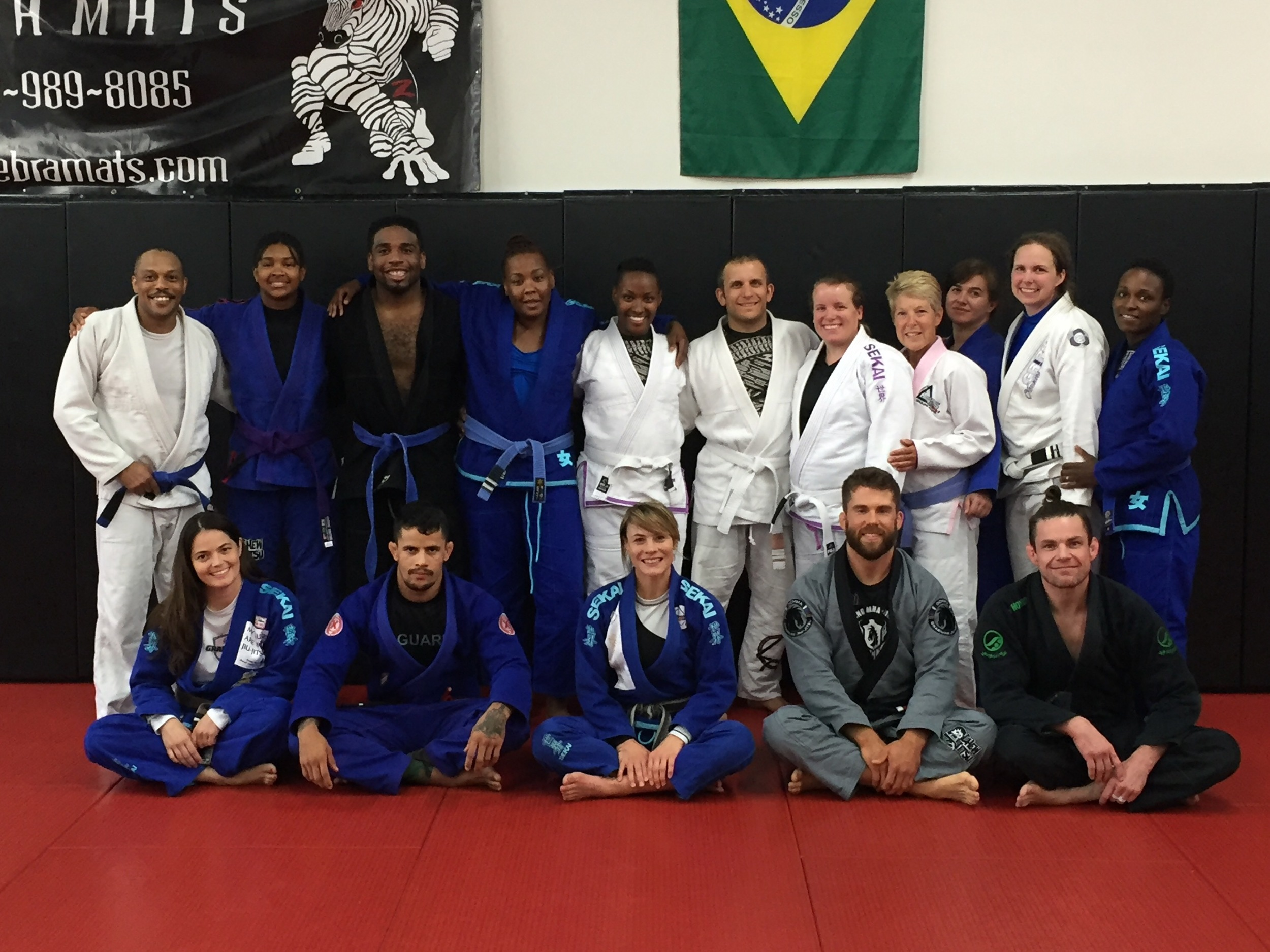 My seminar. Some familiar faces and some new ones.