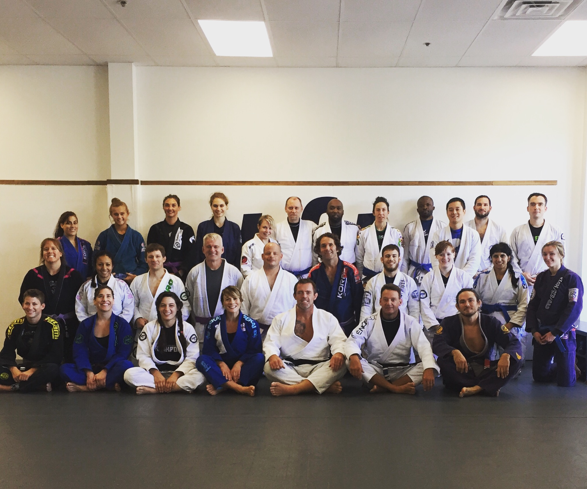 My  seminar with the guys and gals!