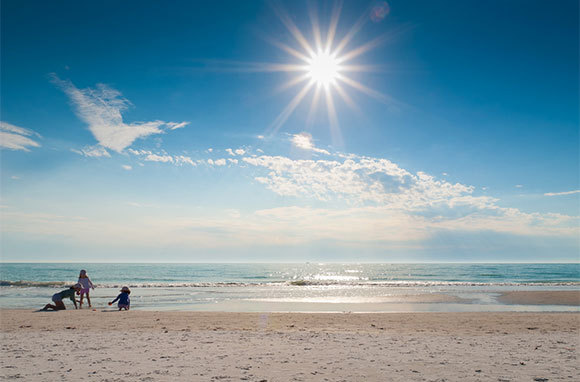 Siesta Key beach, relaxing after yoga & BJJ