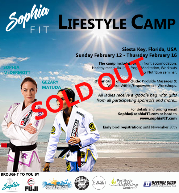 Sophia Drysdale camp
