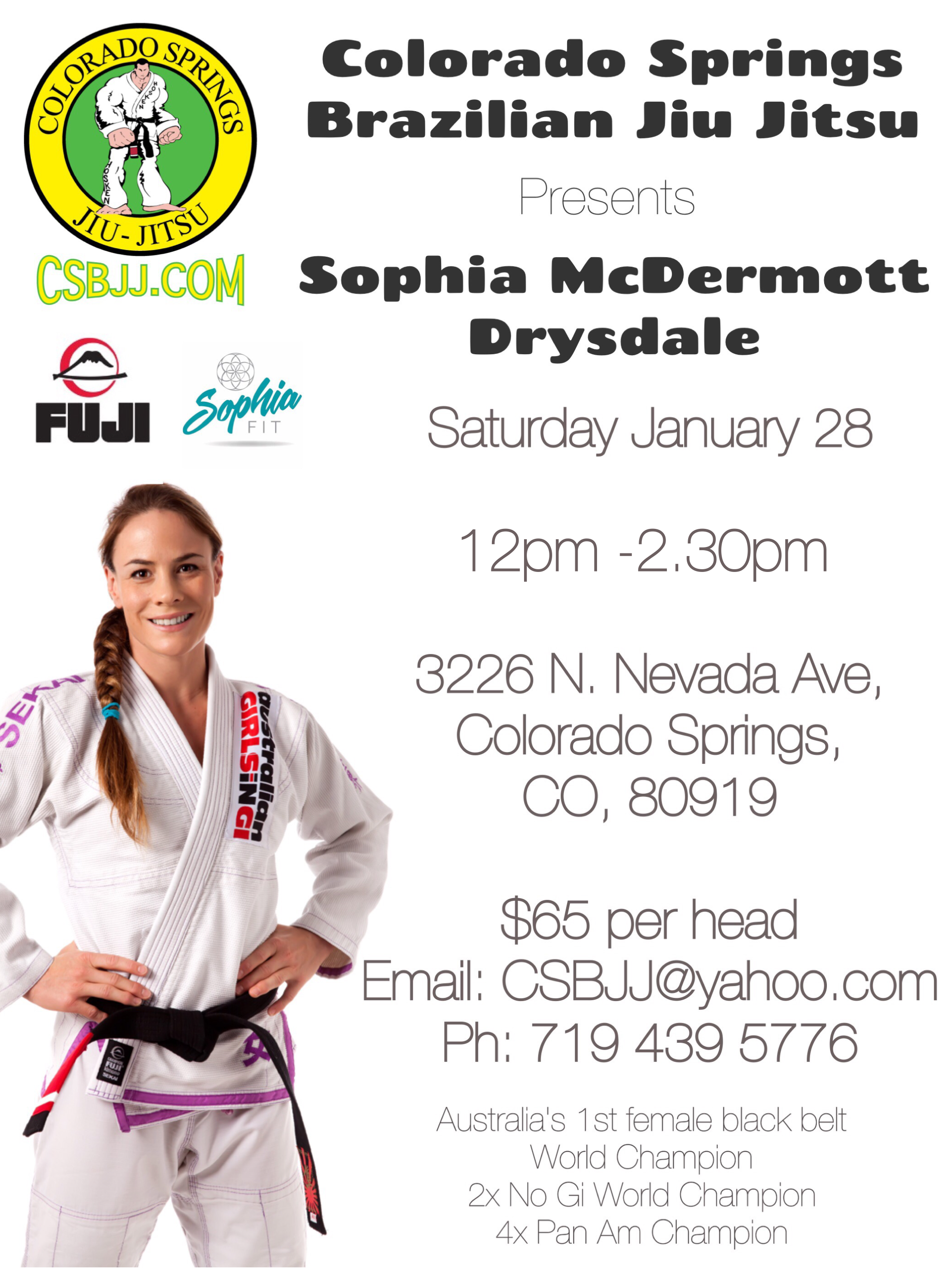 Sophia MCDermott Drysdale