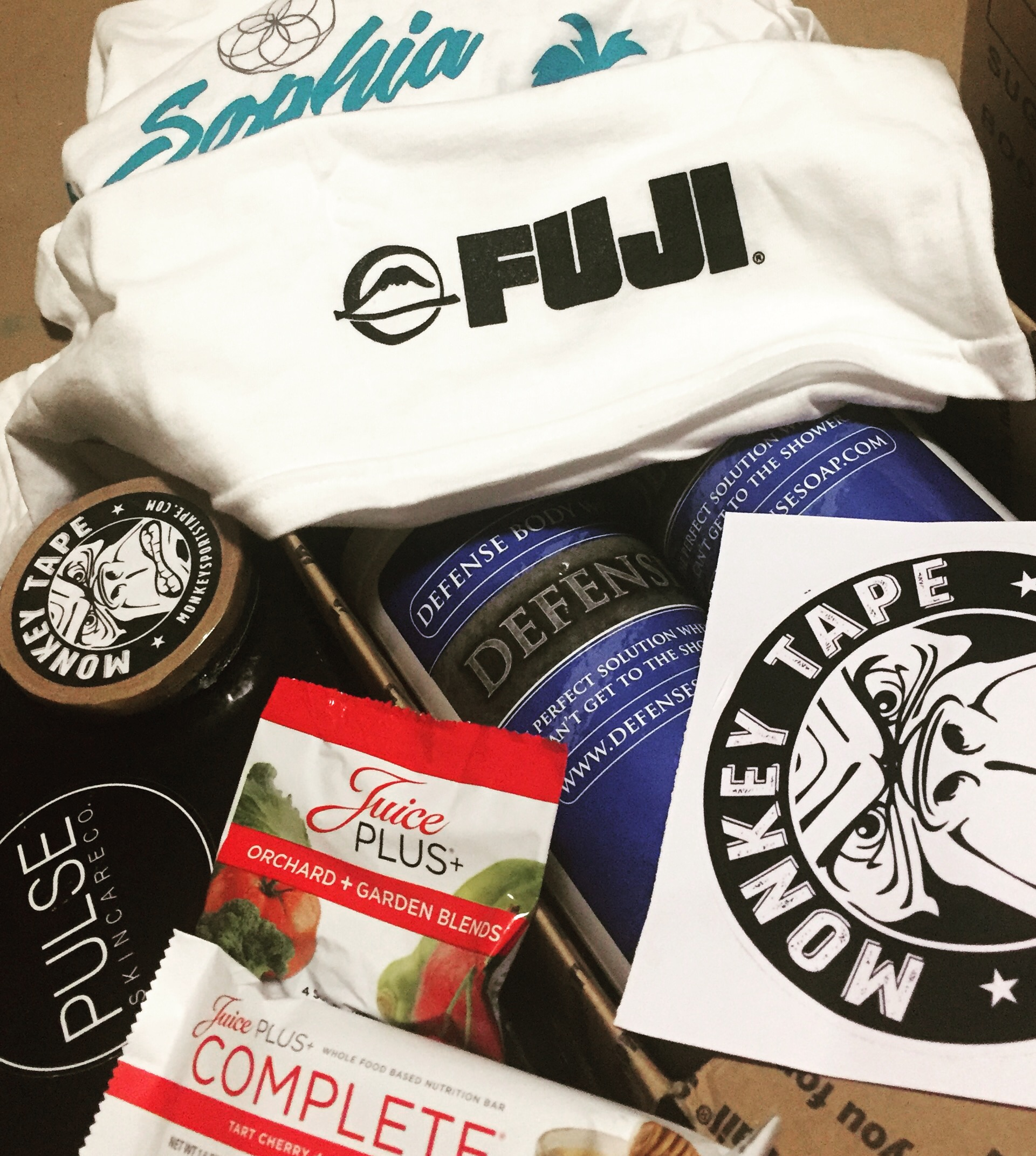 I would like to say a big thankyou to all the sponsors who provided awesome gifts to the goody bags. FujiSports, Monkey Tape, Defense Soap, Pulse Skin Care Co, Juice Plus+ & Fortitude Wellbeing Center.