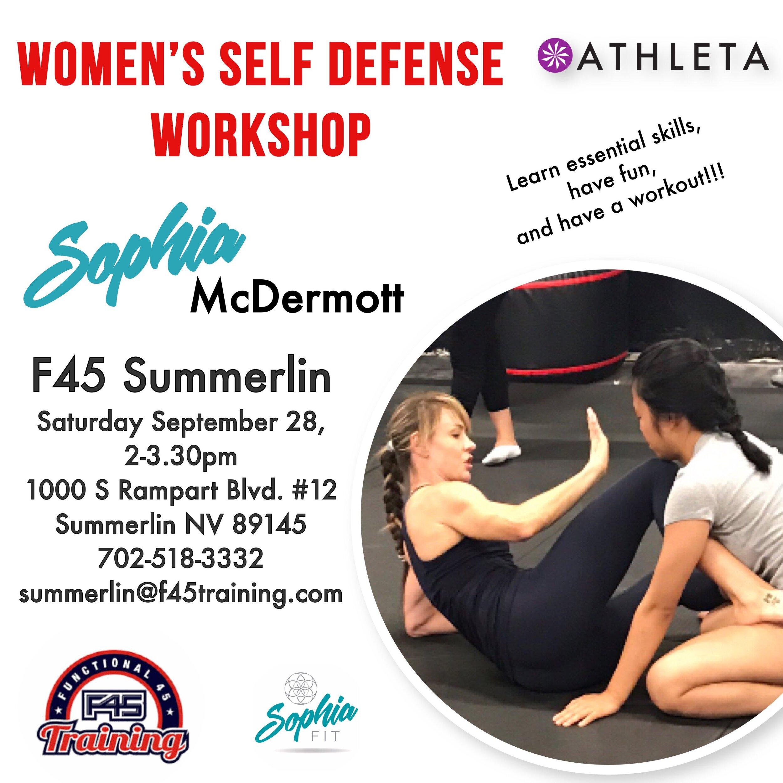 F45, women's Self Defense, sophia Mcdermott.JPG