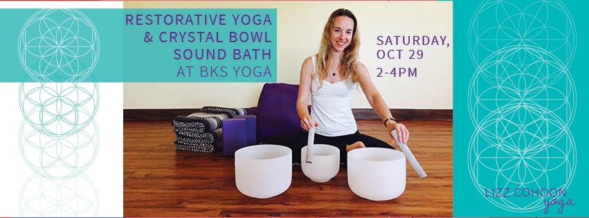 naples florida crystal bowls restorative yoga