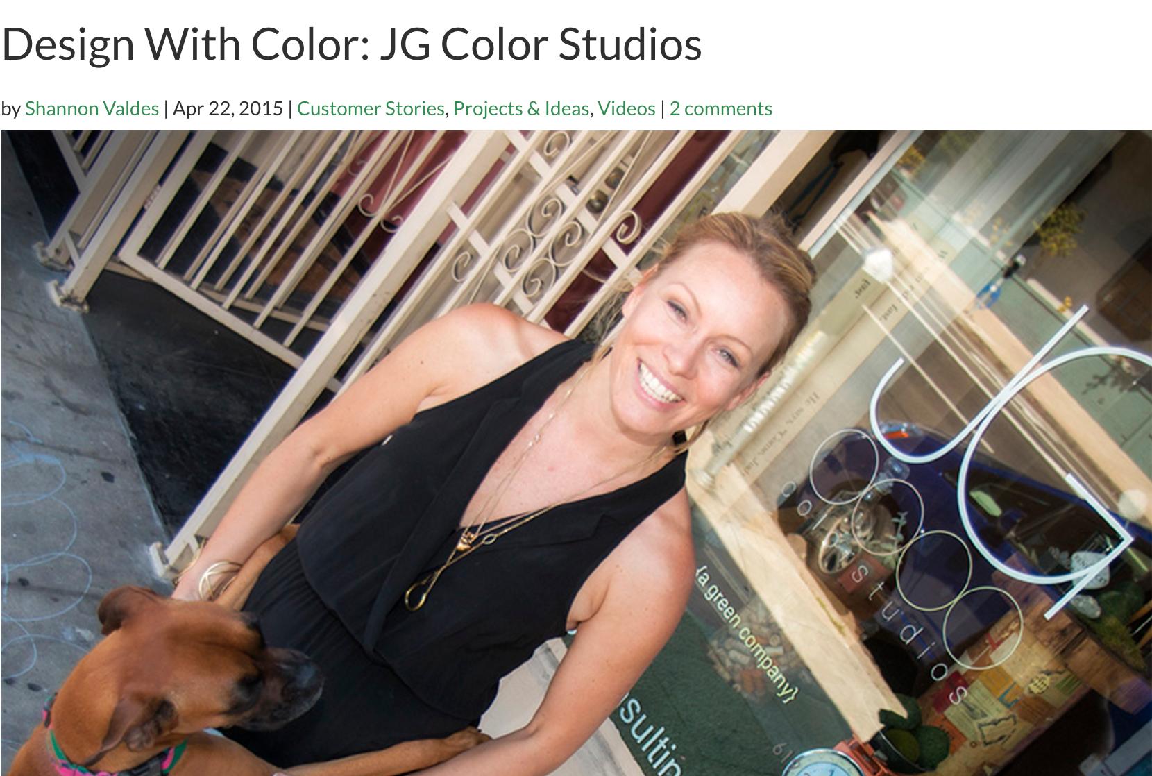 Jen Guerin for Cali Bamboo