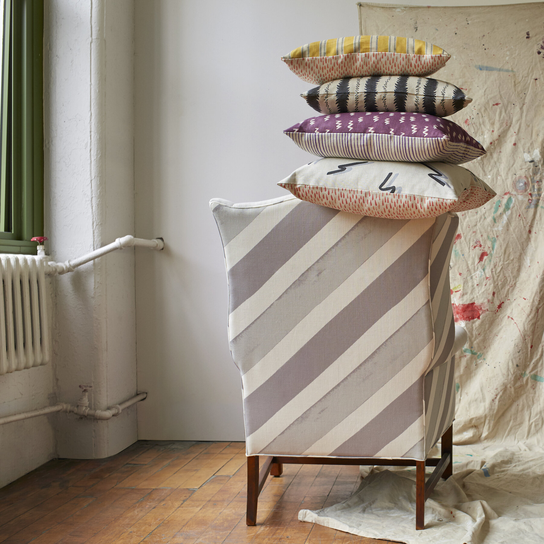 Upholstery fabrics by KLS Textiles