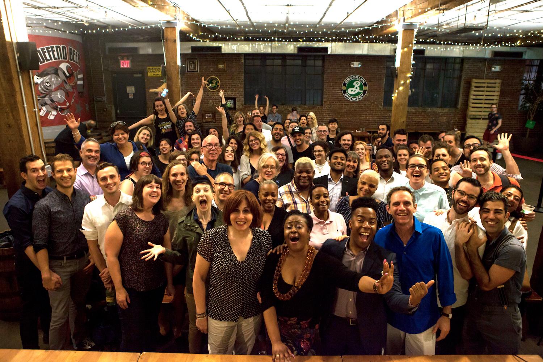 SpeakOut: Stories of Pride at Brooklyn Brewery.June 2017.