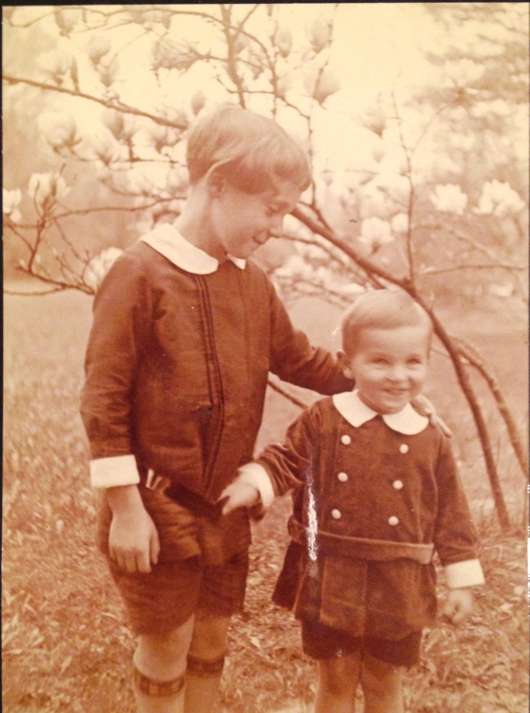 My father, Horst Joachim and his brother, Hans Dieter, my Uncle Dieter, as children
