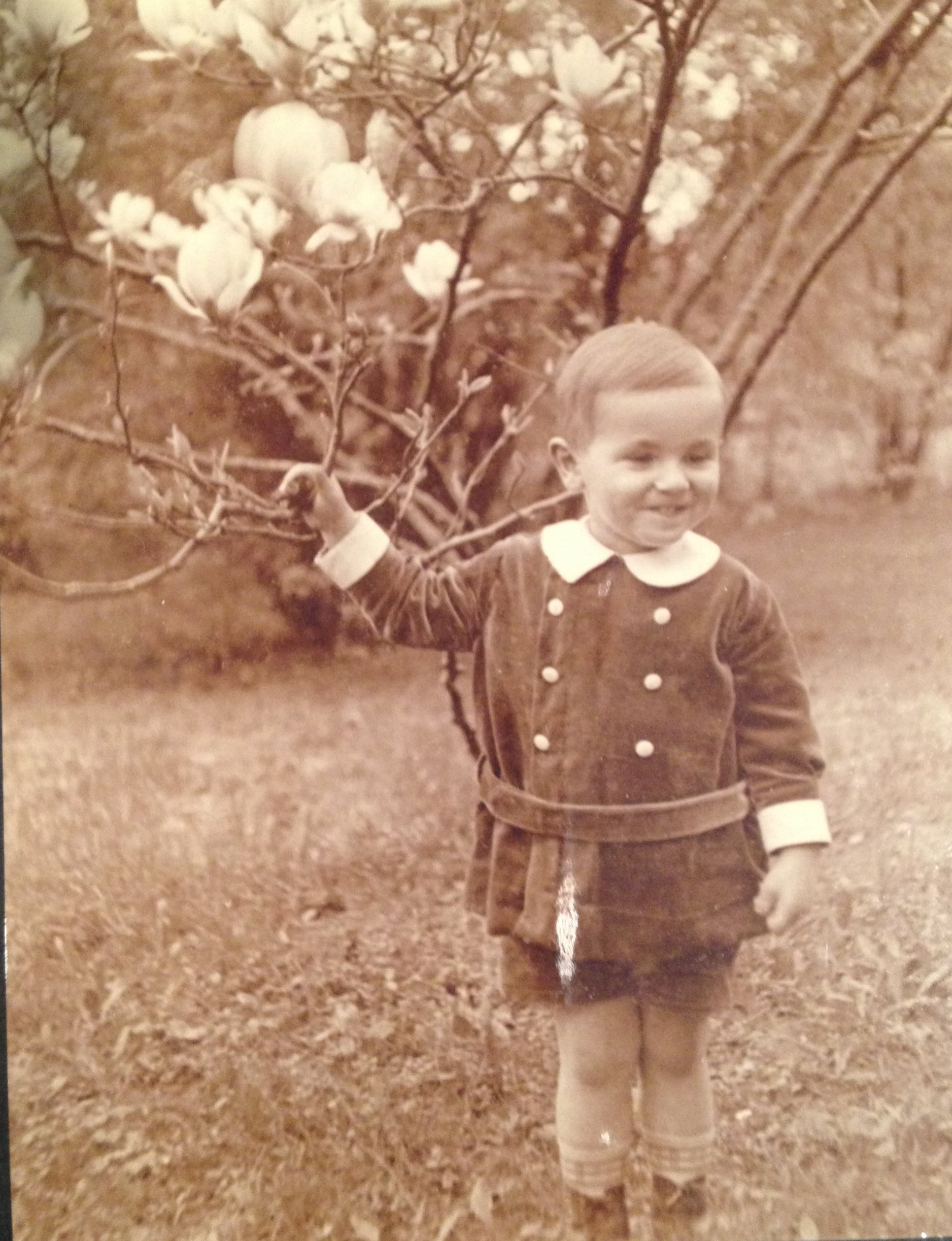 My Uncle Dieter as a child