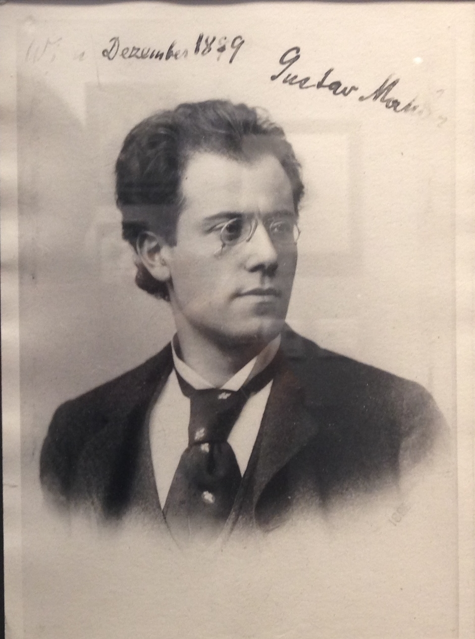 Gustav Mahler (1860-1911), eminent composer and conductor, known best for his ten symphonies