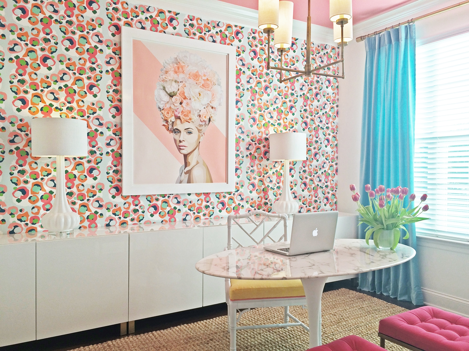 Hand Illustrated Fabrics and Wall Coverings