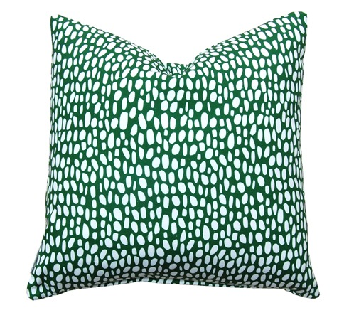 Coco in Emerald Pillow