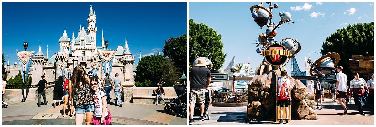First day at Disneyland