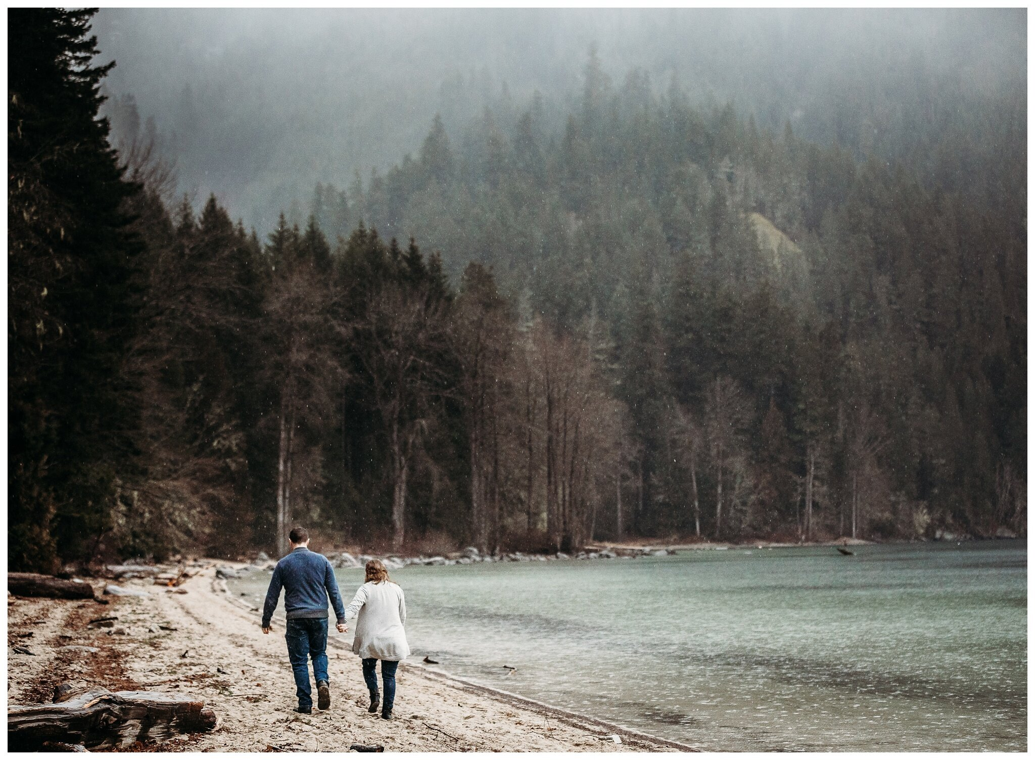 Chilliwack Lake Rainy Winter Engagement Photography Session Couples Photographer_0010.jpg