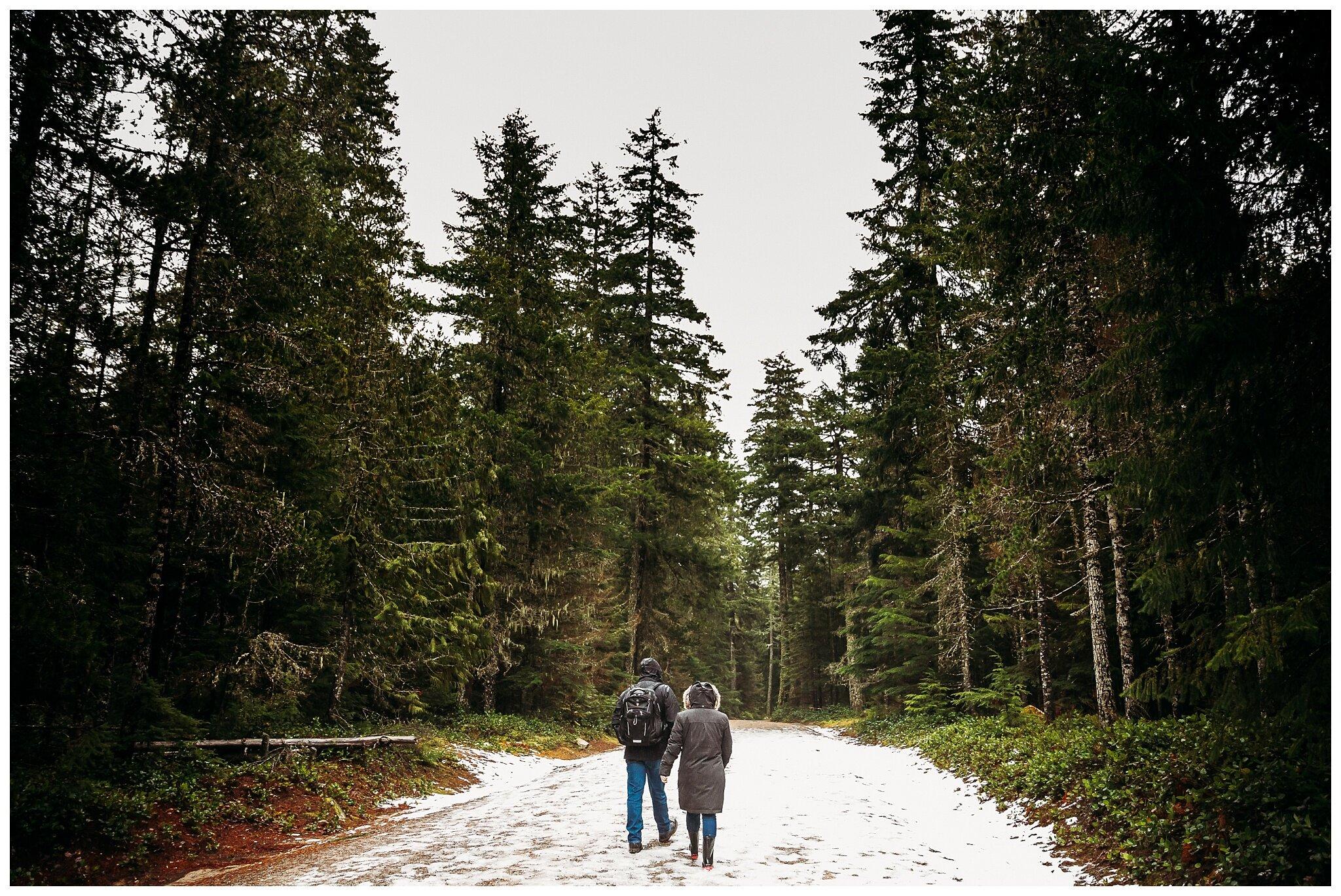 Chilliwack Lake Rainy Winter Engagement Photography Session Couples Photographer_0014.jpg