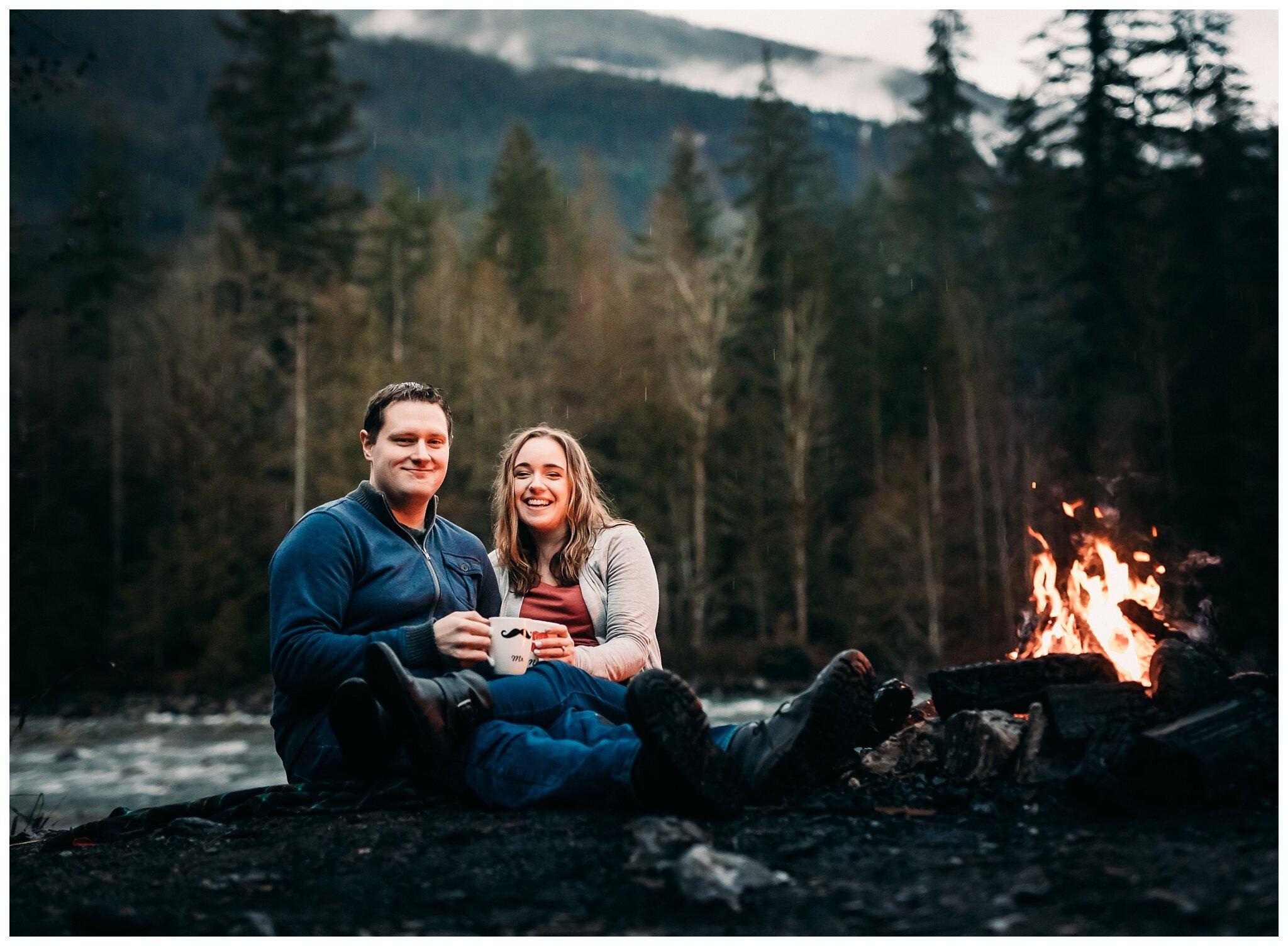 Chilliwack Lake Rainy Winter Engagement Photography Session Couples Photographer_0019.jpg