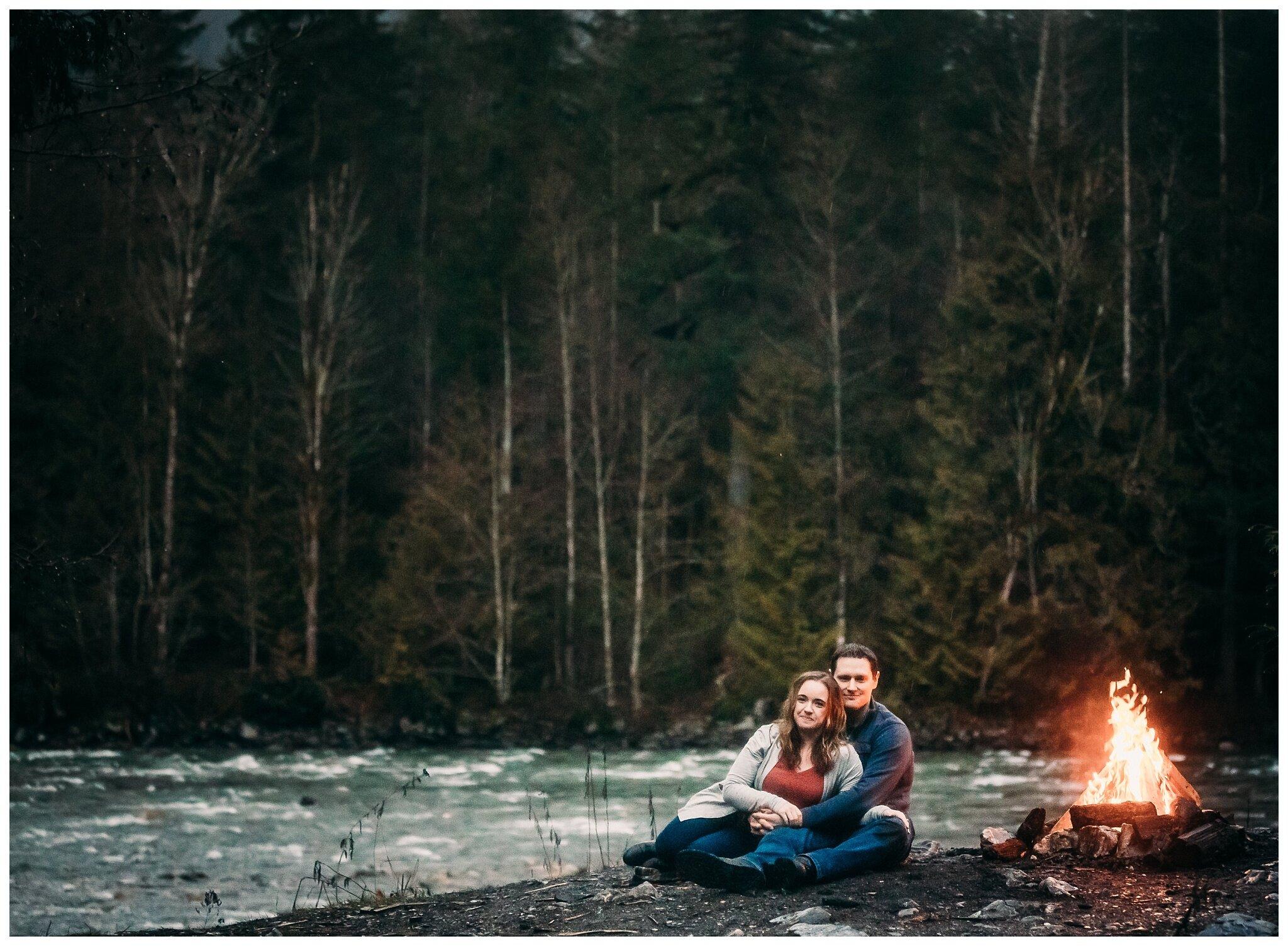 Chilliwack Lake Rainy Winter Engagement Photography Session Couples Photographer_0022.jpg