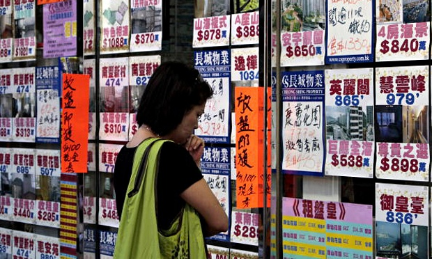 A man's world … entrenched norms are helping exclude women from the Chinese property boom. Photograph: Bloomberg
