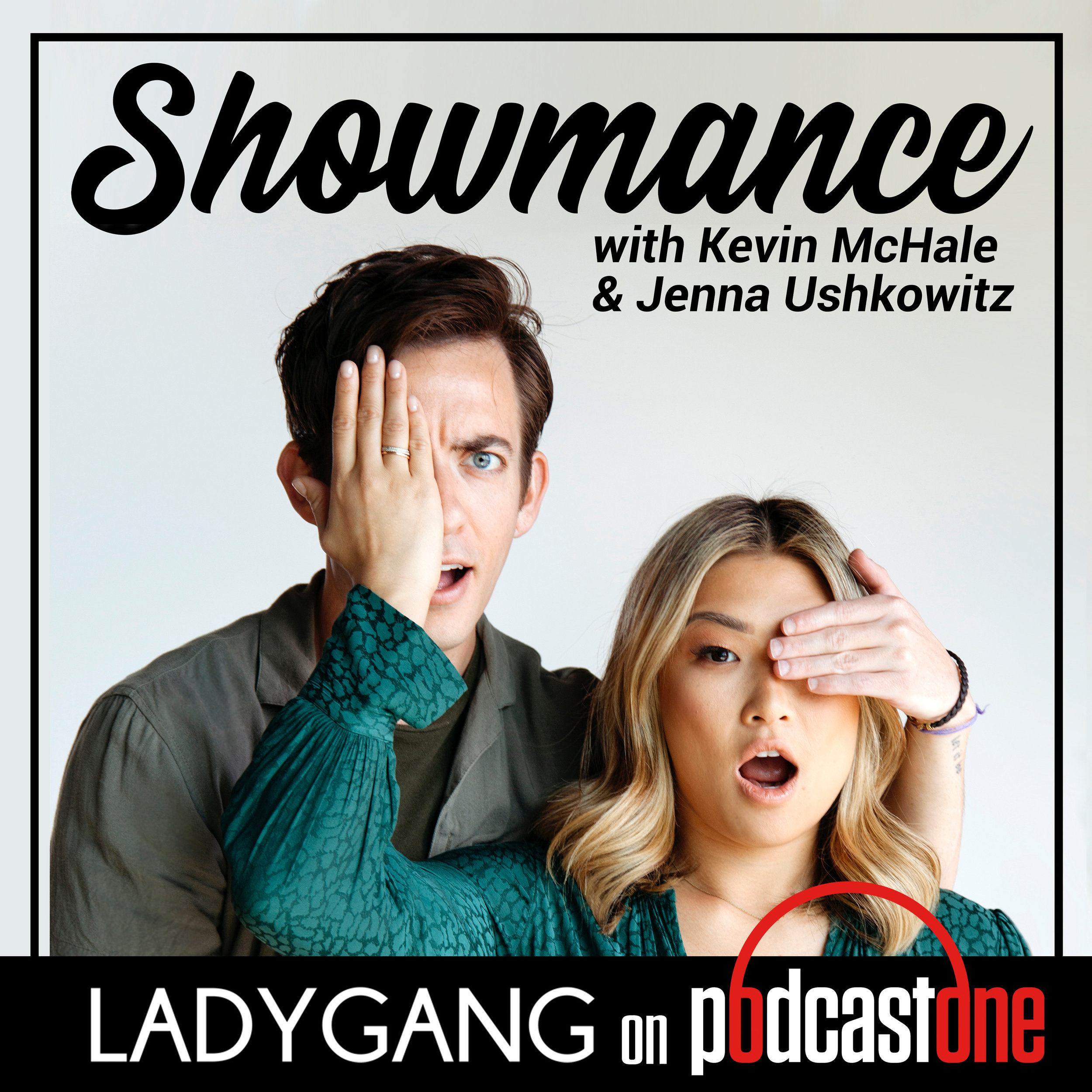 SHOWMANCE - Join former Glee stars and best friends - Jenna Ushkowitz and Kevin McHale - as they interview other dynamic duos and talk work-life balance & maintaining friendships through ALL the wild ups and downs. Jenna and Kevin will also take on listener questions and give advice about their secret obsession... weddings!