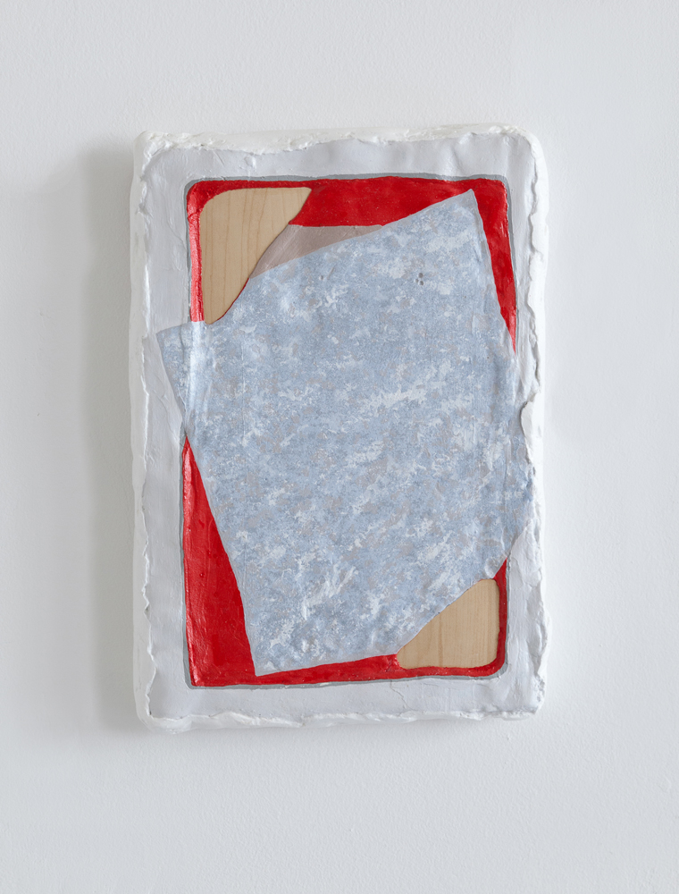 Shaved Symphony 10 x 14 x 1 in  Plaster, acrylic, laminate, and foam 2013