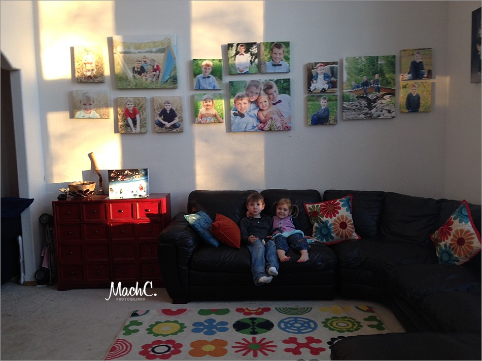 photo wall designs with MachC Photography