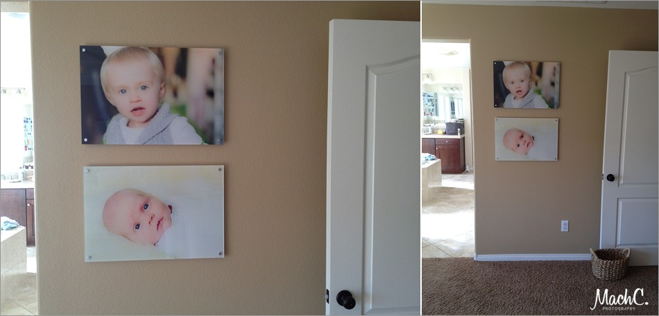 hanging photos in your home