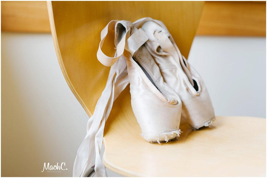 ballet, pointe shoes