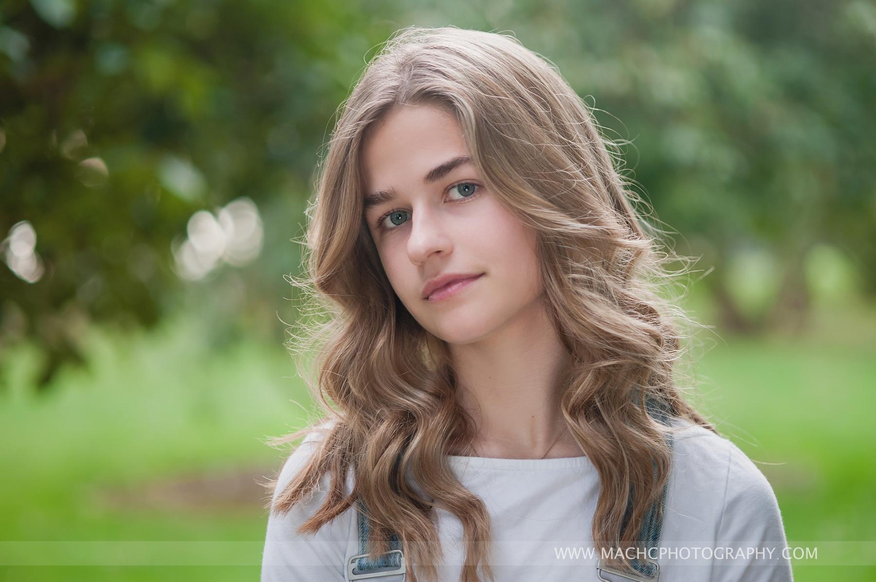 stunning simple portrait, senior girl, Camas, WA