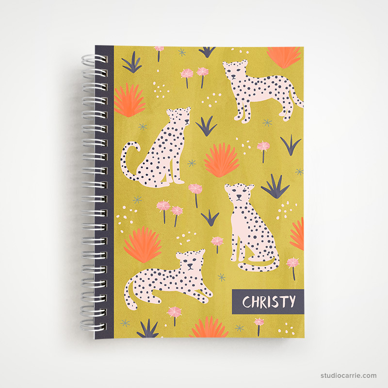 Personalized Undated Weekly Planner