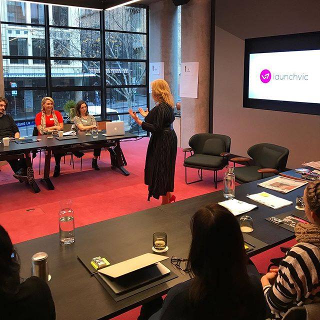 Honored to open the first of five workshops @ofcharacter_ are facilitating to provide founders practical, hands-on advice to promote and position their startups. #global #excellence #authenticity #alignment #amplification #launchvic