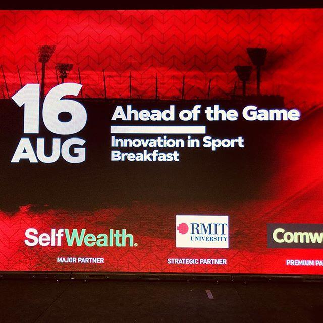 I love #Melbourne ! #SportsDiplomacy #RMIT #Essendon #ASTN #PWC #Catapult #F1 #NBL #LaunchVic @TheChairmansOffice