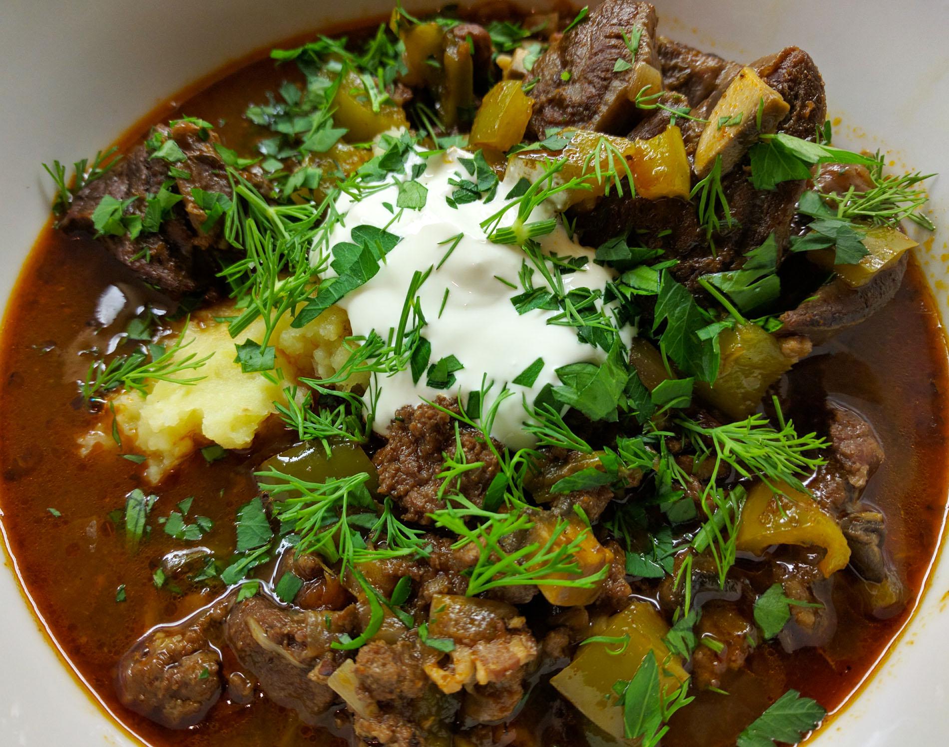 Hungarian Yak stew