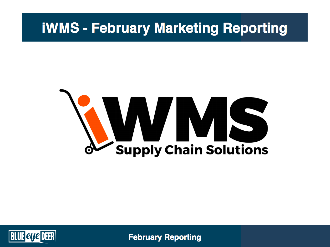 Regular Reporting - We keep iWMS informed about progress and updates as we go, ensuring no one is left in the dark and iWMS are part of the process. As the client always understands their business and industry the best, and need to be involved in strategy and planning discussions!In addition, we send a monthly report that summarises key metrics such as SEO, social media, email and site data. We also summarise the highlights so iWMS can quickly and easily understand what is going well and areas that could be improved.