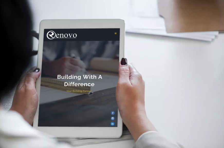 The Challenge - Shaun from Renovo wanted us to build a site that showcased their beautiful architecture, joinery and building expertise. It needed to have powerful imagery and clearly demonstrate Renovo's superior skills and unique value proposition.