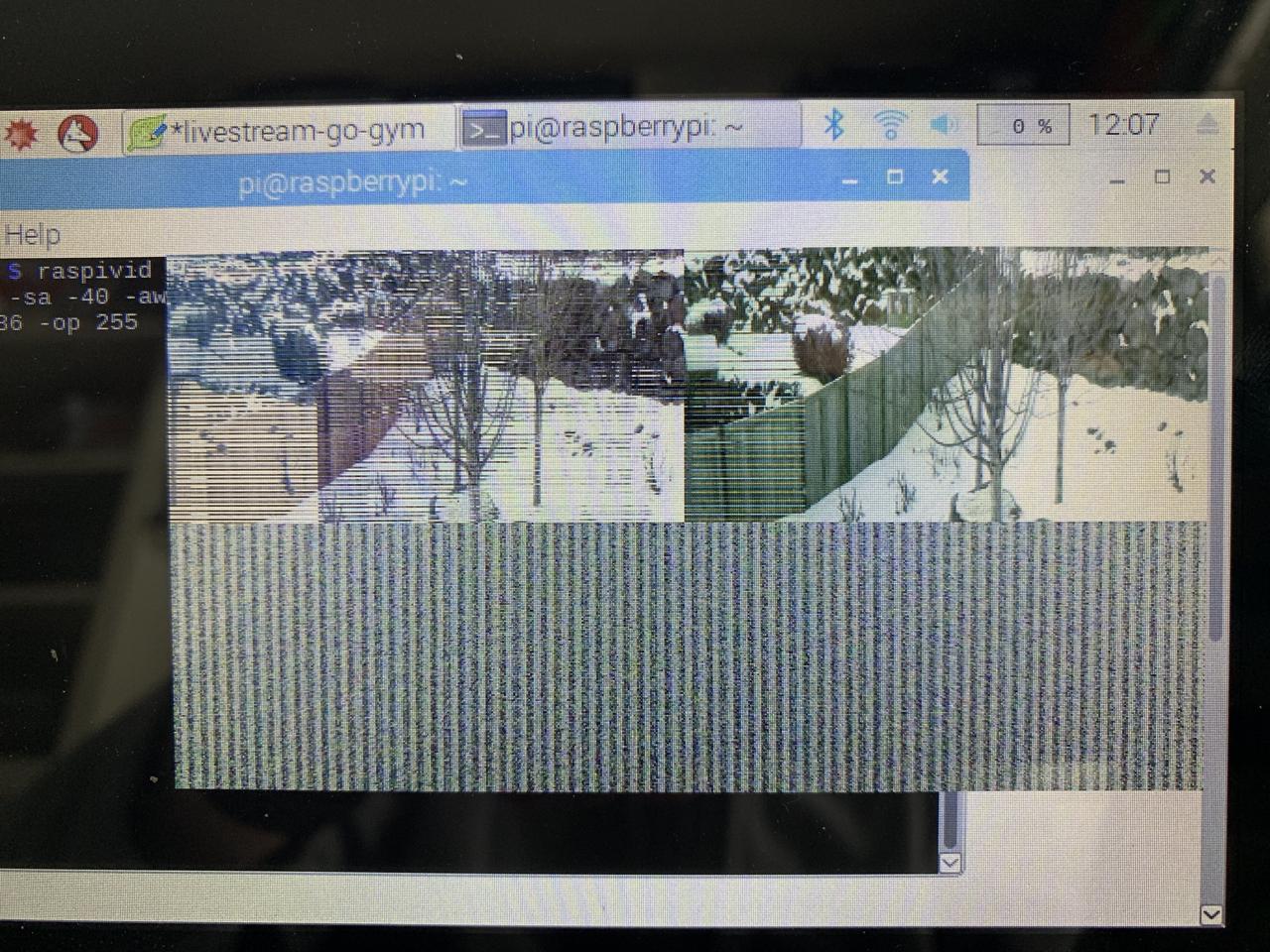 Scrambled video signal