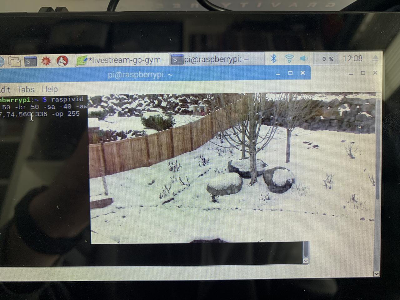 Clean video signal