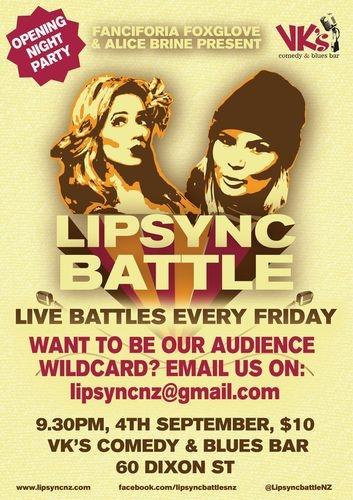 Lipsync Battle events