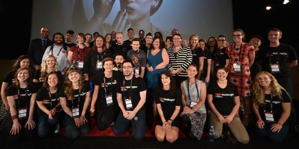 The whole team of TEDxWellington 2016
