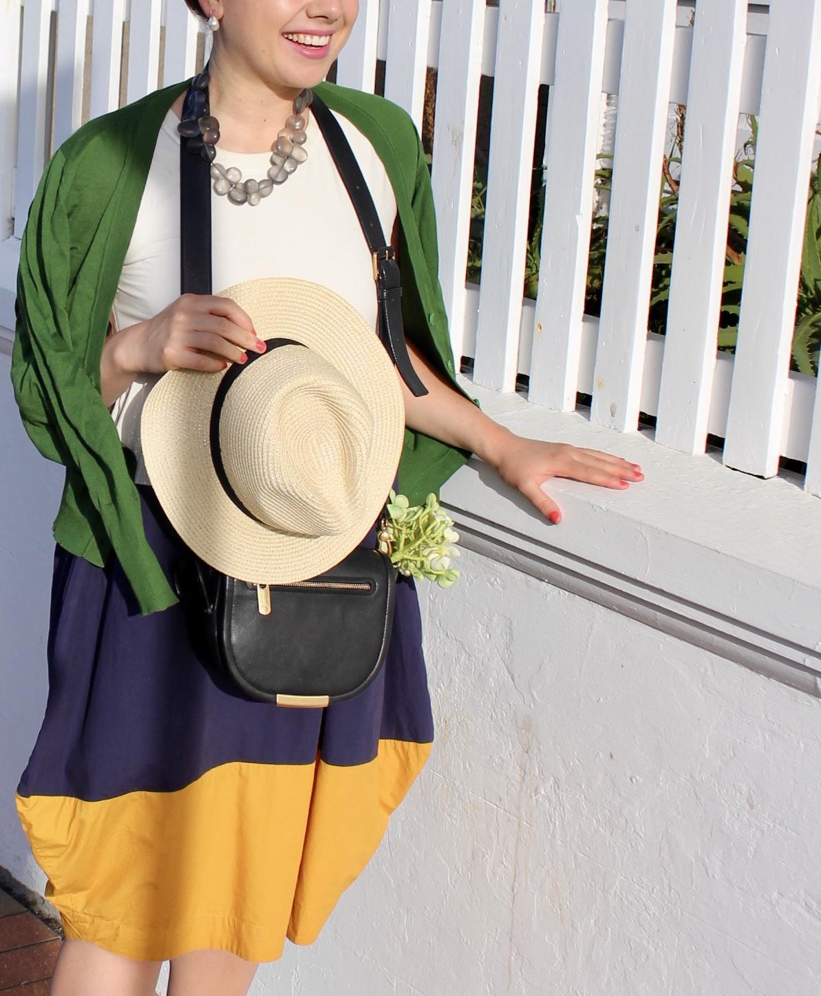 Outfit details below under captions.