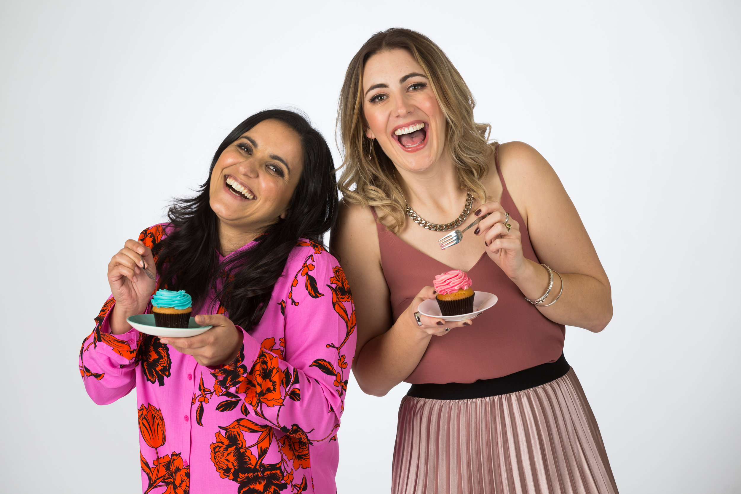Hosts, Madeleine Sami and Hayley Sproull - The Great Kiwi Bake Off - photocredit Jae Frew.jpg