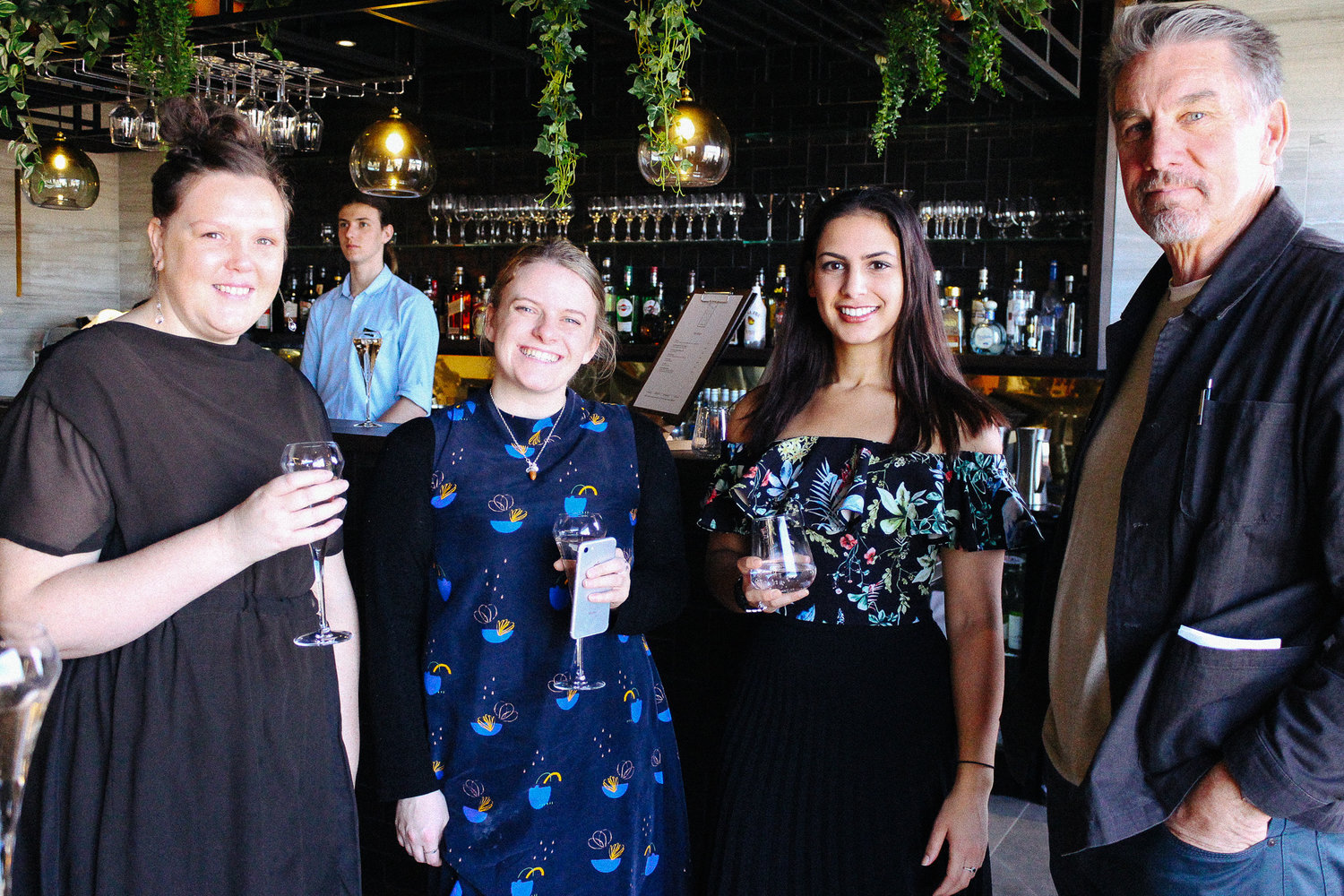 Dignity Founders Jacinda and Miranda at our 2018 Soap For Society lunch.