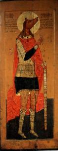 St. Christopher as a warrior cynocephalus from Lycea..jpg