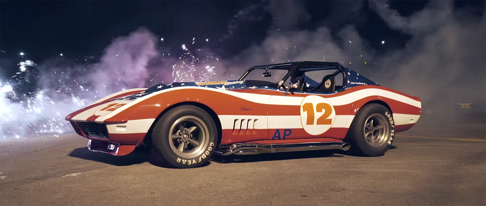 Real. American<a href=/real-american>→</a><strong>All-American Corvette   July 4th</strong>