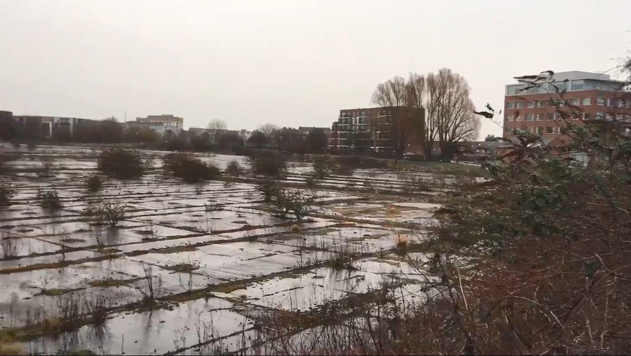 The derelict Firepool site