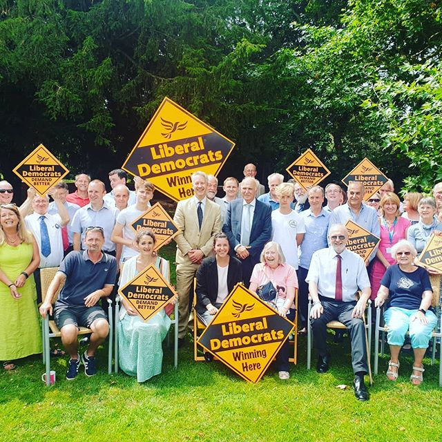 #sirvincecable visited #tauntondeane last week as part of his last tour as leader of the Liberal Democrats😁