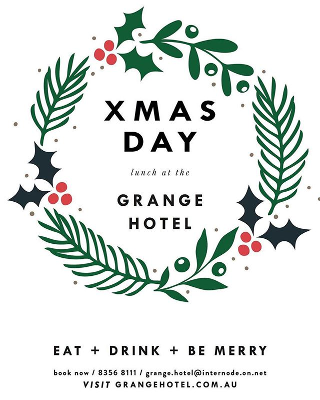 Christmas is less than a week away! We're open on the big day, serving up a special lunch package including shared table platters of antipasto, seafood, meat and of course a dessert platter. Make your reservation now on (08) 8356 8111. #christmas #xmas #celebrations #festiveseason #love