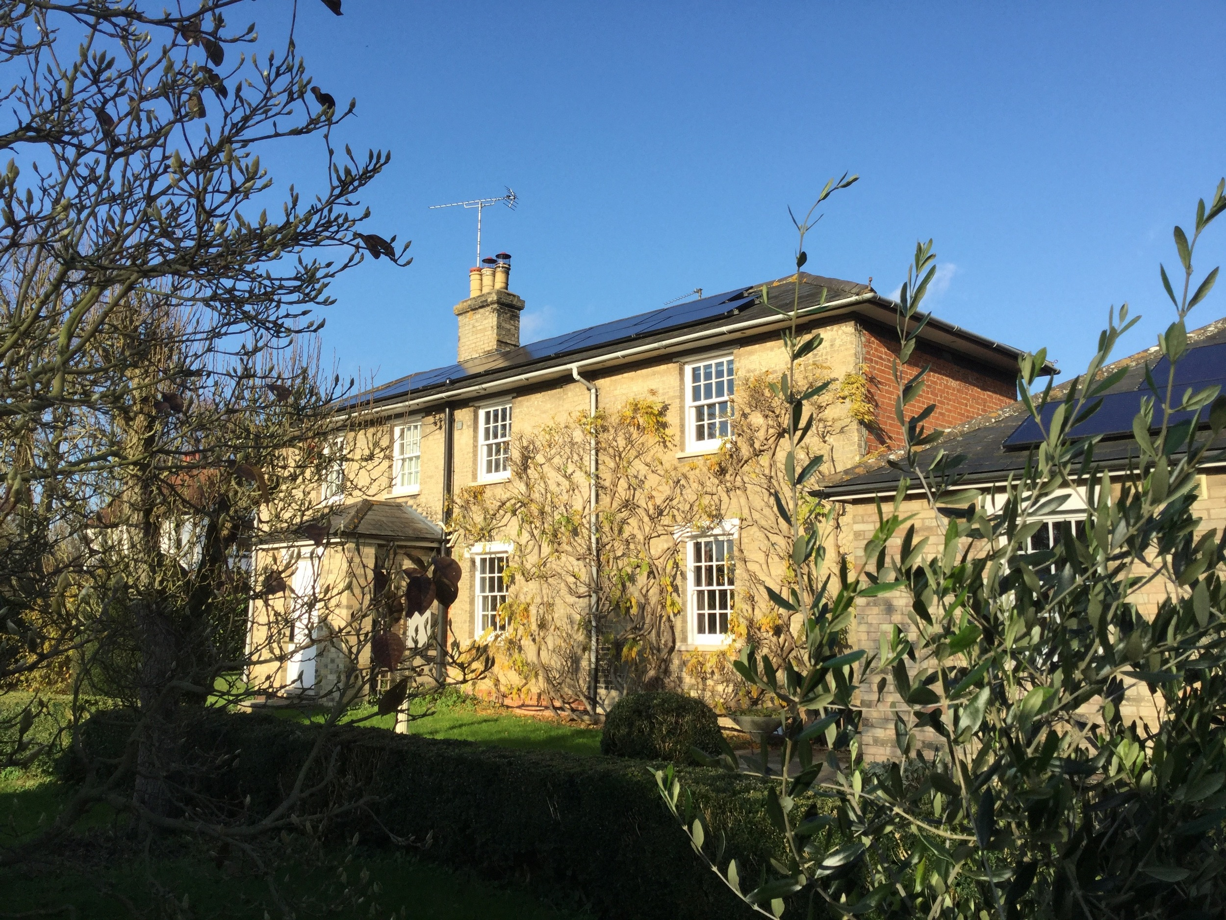 Join us for coffee at our offices in East Bergholt in the heart of Constable Country, complete with photovoltaic cells for generating our power.