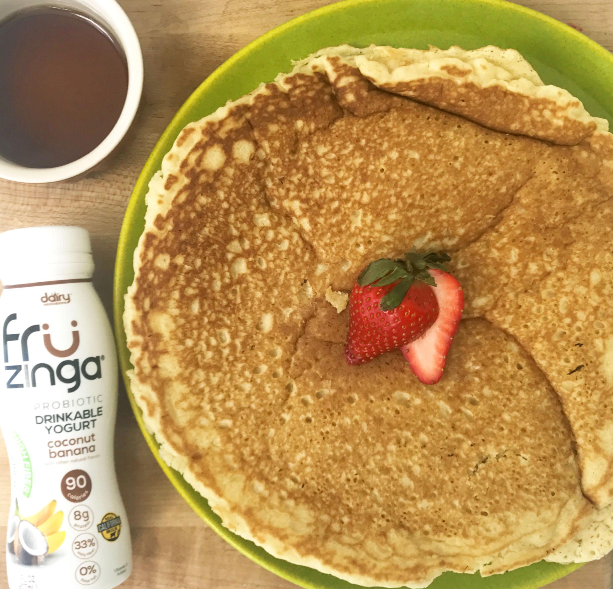 Gluten Free Probiotic Pancakes