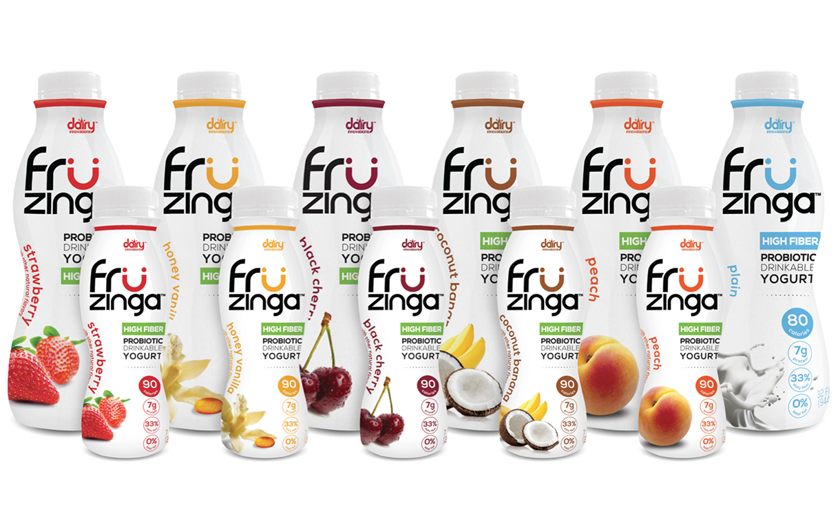 Fat Free Probiotic Drinkable Yogurt.