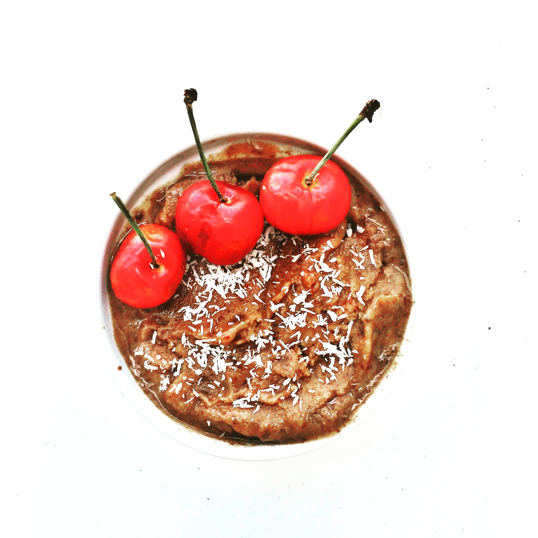 Chocolate Cherry Froyo